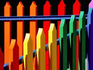 Собирать пазл Fence онлайн