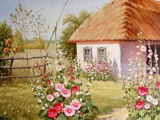 Собирать пазл Ukrainian house онлайн