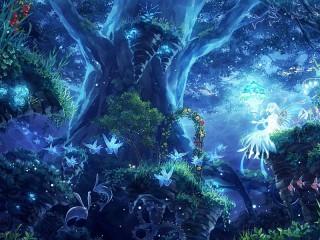 Собирать пазл Underwater Forest онлайн