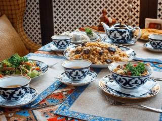 Собирать пазл Uzbek teahouse онлайн