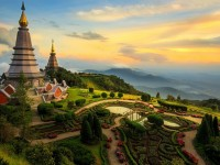 Собирать пазл The great pagoda онлайн