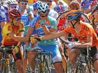 Собирать пазл Bicyclers онлайн