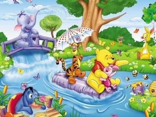 Собирать пазл Winnie the Pooh онлайн