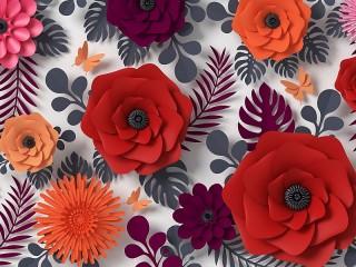 Собирать пазл Virtual flowers онлайн