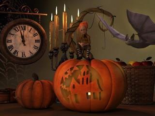 Собирать пазл Halloween Time онлайн