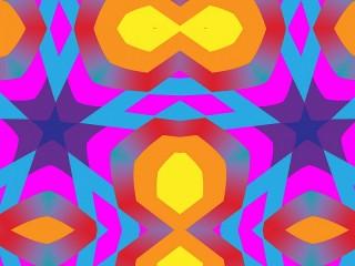 Собирать пазл A bright symmetry онлайн