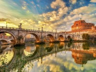 Собирать пазл Castel Sant'angelo онлайн