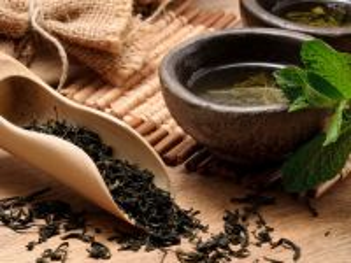 Собирать пазл Green tea онлайн