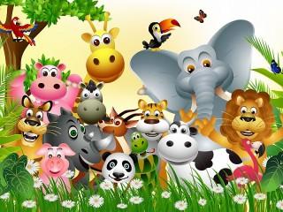 Собирать пазл Animals онлайн