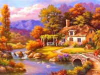 Собирать пазл Mellow autumn онлайн
